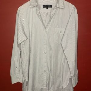Rag And Bone Top - Oversized Button Down Shirt